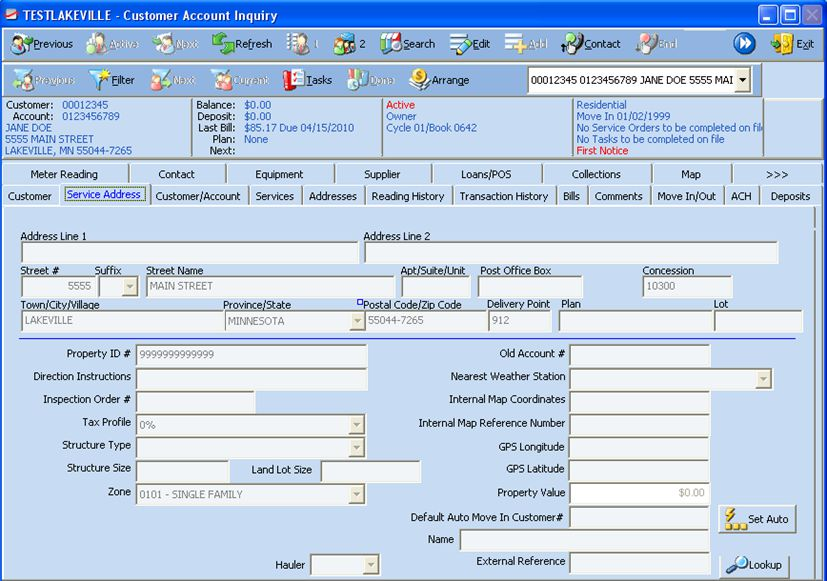 Utility Billing System Cis Infinity Logis Golden Valley Mn